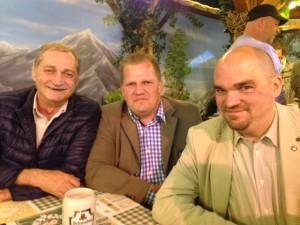 v.l.n.r. Armin Serwani, Mark Roschmann, Dr. Jan Havlik