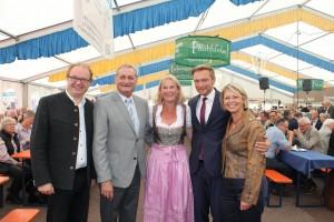 v.l.n.r. Michael Conz, Armin Serwani, Gabriele Heise, Christian Lindner, Gabriele Reich-Gutjahr