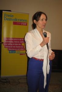 Judith Skudelny, Generalsekretärin der FDP BW
