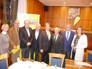 v.l.n.r. Gabriele Reich-Gutjahr MdL, Dr. Jan Havlik, Prof. Jörg Menno Harms, Michael Maisch, Ulrich Wecker, Helmut Reusch, Armin Serwani, Isabel Fezer